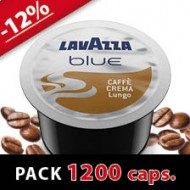 CAFFE CREMA LUNGO - PACK 1200 CAPS