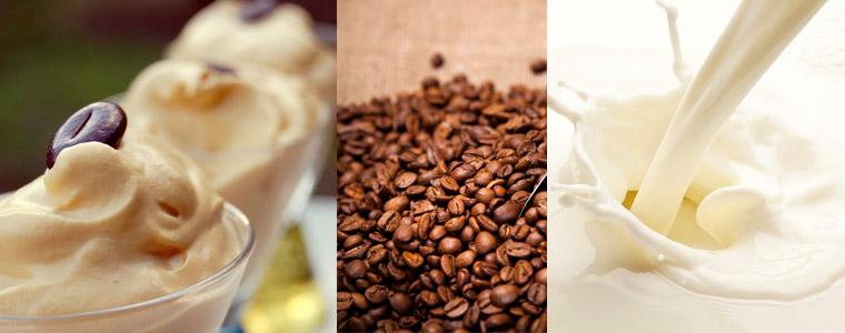 Mousse ricotta café