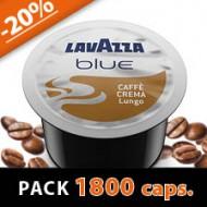 CAFFE CREMA LUNGO - PACK 1800 CAPS